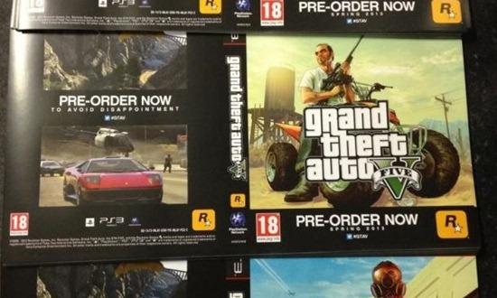 Новые арты GTA 5 на листовках/постерах