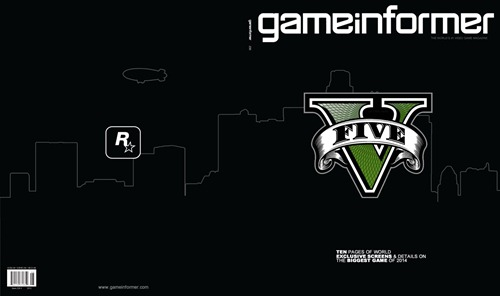 Обложка и журнал GameInformer с Grand Theft Auto 5 появятся 8 ноября