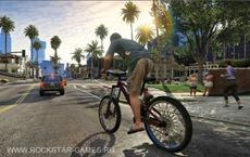 Поездка на велосипеде по Лос Сантосу