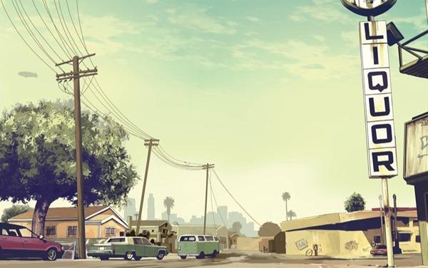 Искусство Grand Theft Auto