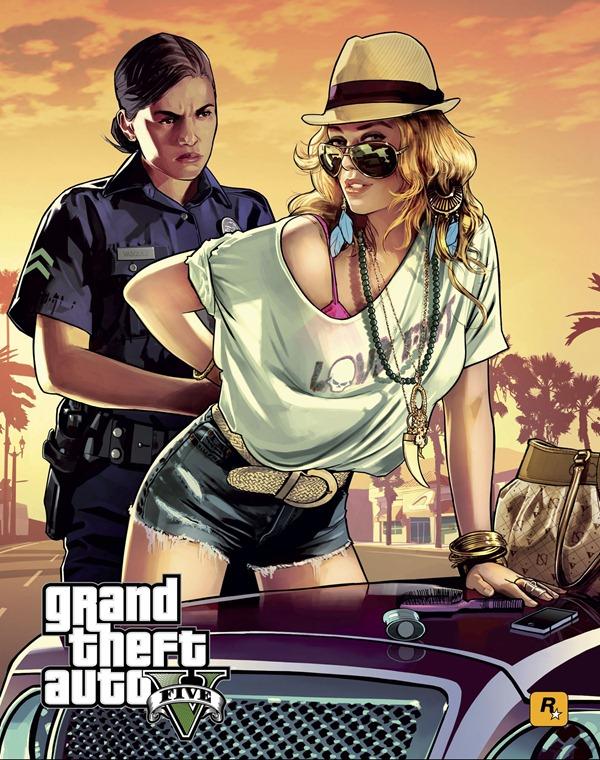 Превью GTA 5 - Командная работа