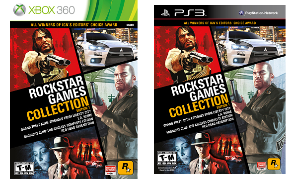 Rockstar Games Collection #1 уже в продаже