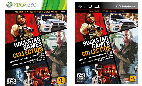 Rockstar Games Collection #1 уже в продаже