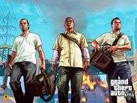 Арт Grand Theft Auto 5: Тревор, Франклин и Майкл