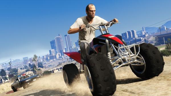 Games Master: 100% Новая информация о GTA V