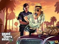 Арт Grand Theft Auto 5: Задержание и обыск