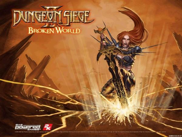 В царствие Dungeon Siege все нормально