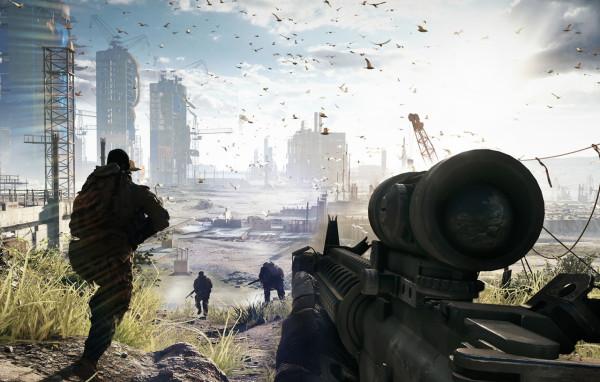 Появился официальный  анонс даты релиза  Battlefield 4 в Facebook