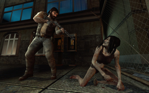 В Left 4 Dead можно пробежать все уровни с битой