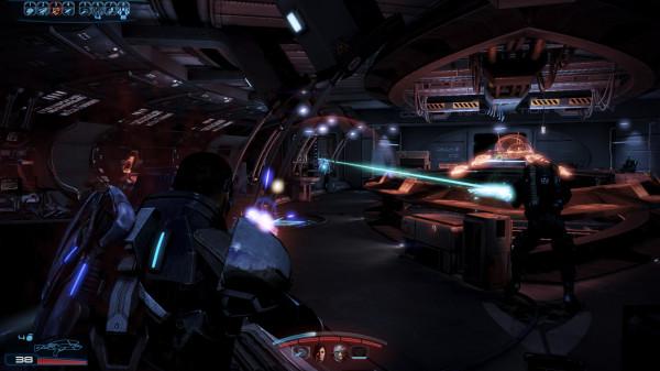 Что происходит внутри Mass Effect 3