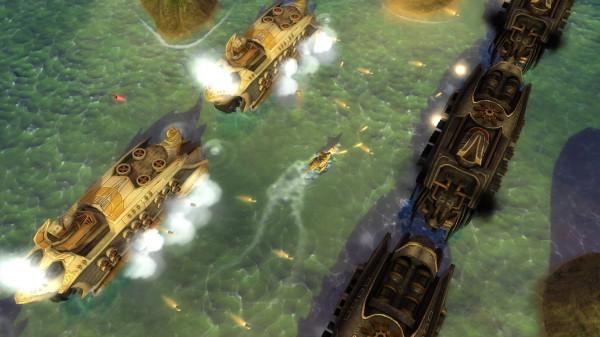 Обзор Naval Warfare