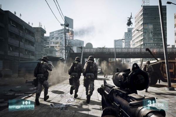 Battlefield 3 удивляет изумительной графикой