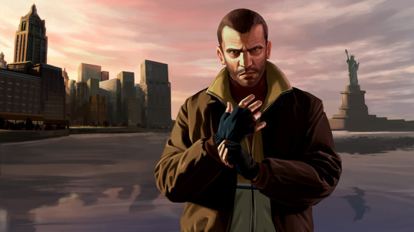 GTA 4 главный герой Нико