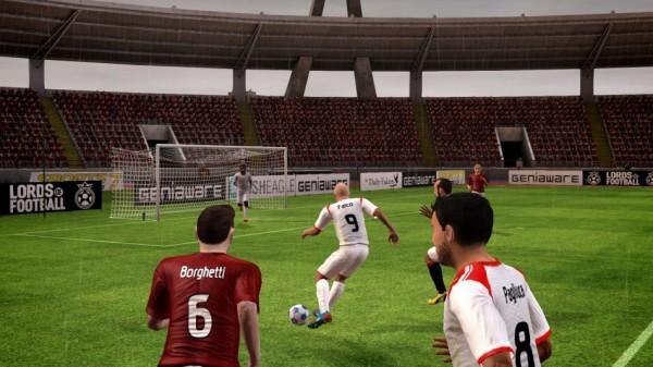 Футбольный симулятор Lords of Football