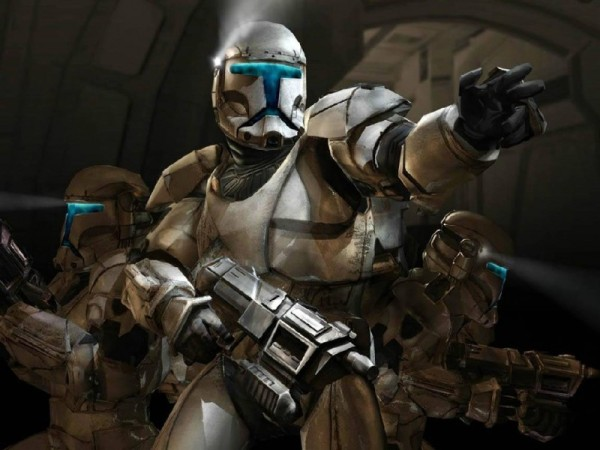 ЕА о работе над Star Wars