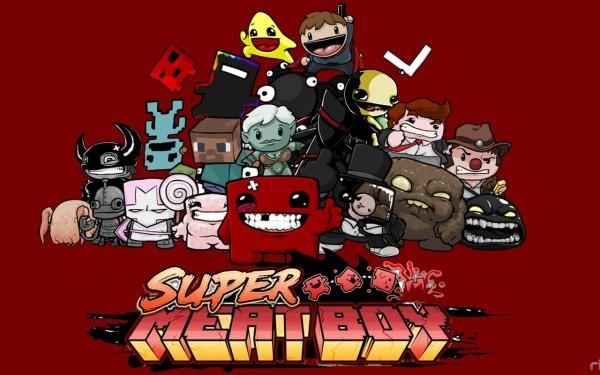 Немного о Super Meat Boy