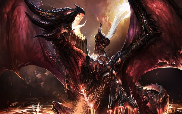 Убить дракона в World of Warcraft