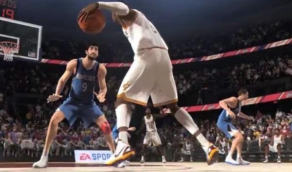 Анонс новой NBA Live 14