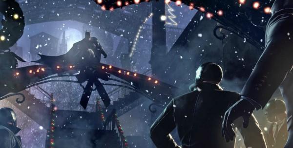 Первое DLC для Batman: Arkham Origins
