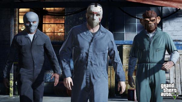 Ограниченный доступ к героям в начале игры GTA 5
