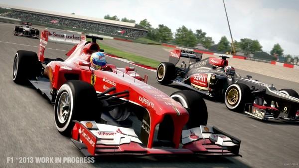 Релиз F1 2013 состоится в октябре