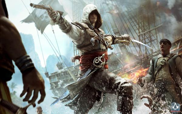 В Assassin's Creed 4 предусмотрено 11 сражений за порты