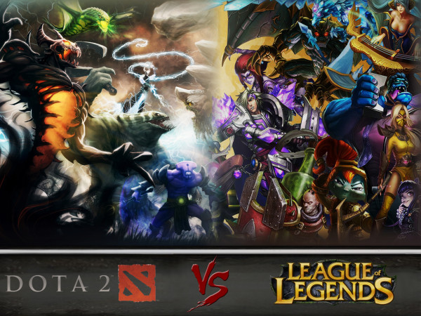 Dota 2 или League of Legends?