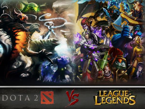 Dota 2 или League of Legends?