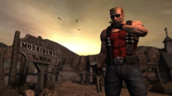 Duke Nukem Forever несколько успокоились