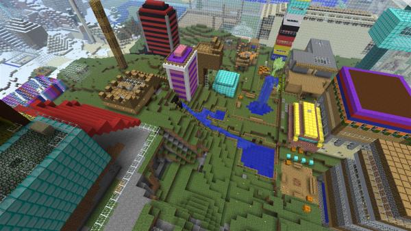 Освободи фантазию в Minecraft Pocket Edition
