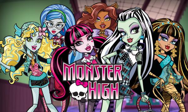 Monster High – отличные игры для девочек