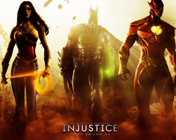 Injustice: Gods Among Us отныне в цифровом варианте Сони