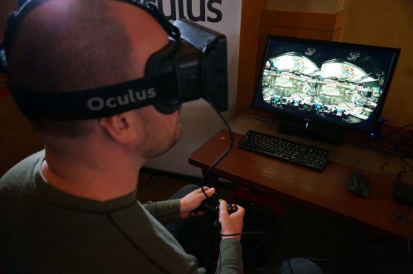 Новый авиа-симулятор Oculus Rift