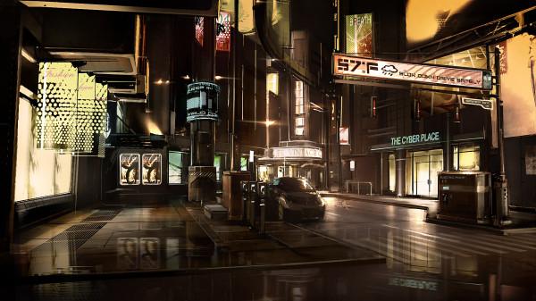 Концепт-арт для Deus Ex: Human Revolution или что-то большее?