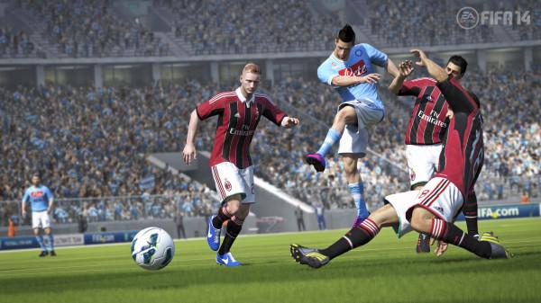 FIFA 14  уже долгое время в чарте Украины занимает первое место среди всех игр