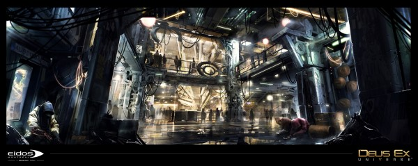Дэвид Анфосси: «Наша главная цель — воссоздать  при помощи серии   Deus Ex: Universe огромный мир»