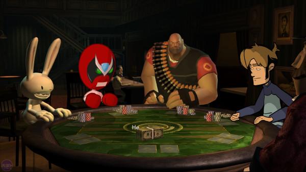 Poker Night at the Inventory  - игра в неформальной обстановке