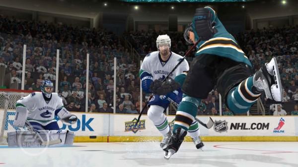 Игра реакции в NHL
