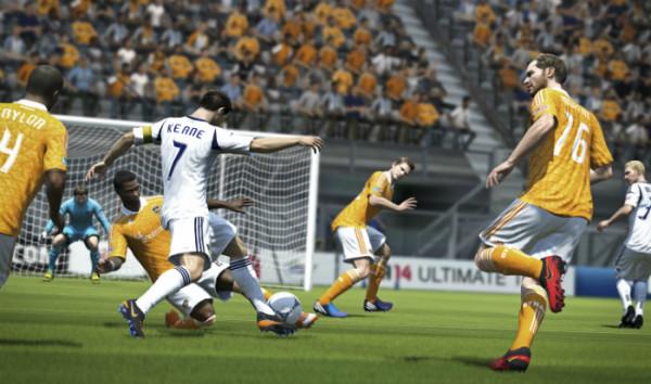 FIFA14 - это последняя версия в серии симуляторов от ЕА