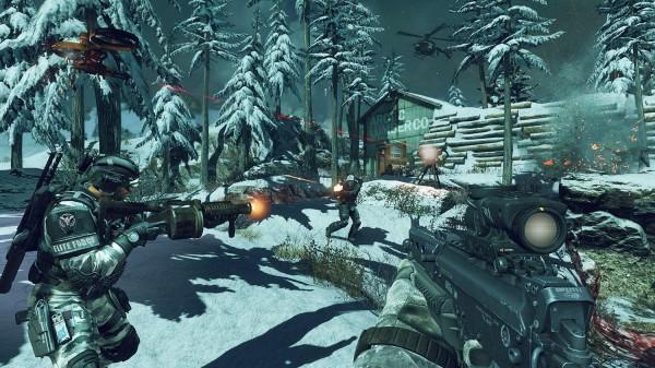 Не особенно и впечатлила Call of Duty: Ghosts