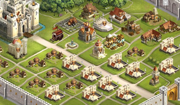 У создателей игры Kingdoms of Camelot небольшие корректировки