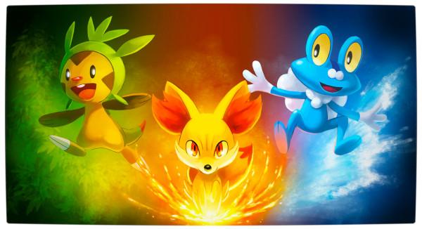 Краткий обзор игры Pokemon X/Y