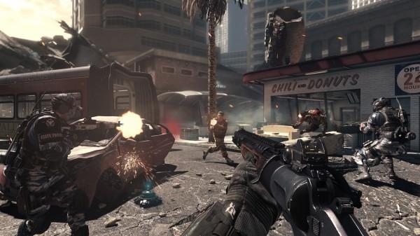 Новый женский персонаж в игре Call of Duty: Ghosts