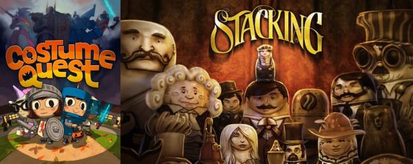 Права на игры Costume Quest и Stacking перешли к новой студии