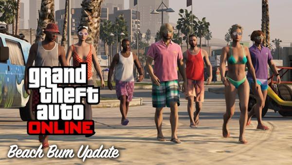 Обновление 1.06 и DLC Beach Bum Pack для GTA 5 и GTA Online