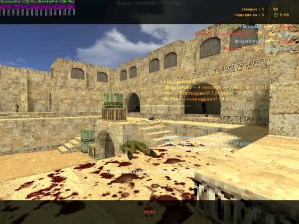 Обзор видеоигры Counter Strike 1.6