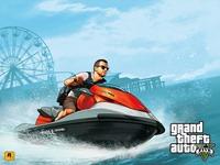 Арт Grand Theft Auto 5: Деньги и кража: Вода