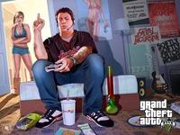 Арт Grand Theft Auto 5: Трейси и Джимми