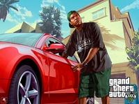 Арт Grand Theft Auto 5: Ламар