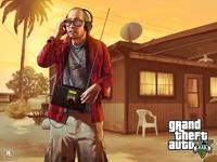 Арт Grand Theft Auto 5: Тревожный Рон
